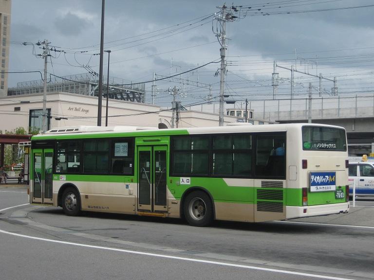 [2014年の夏][富山市] 富山地鉄バス Img_4829