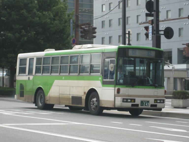 [2014年の夏][富山市] 富山地鉄バス Img_4830