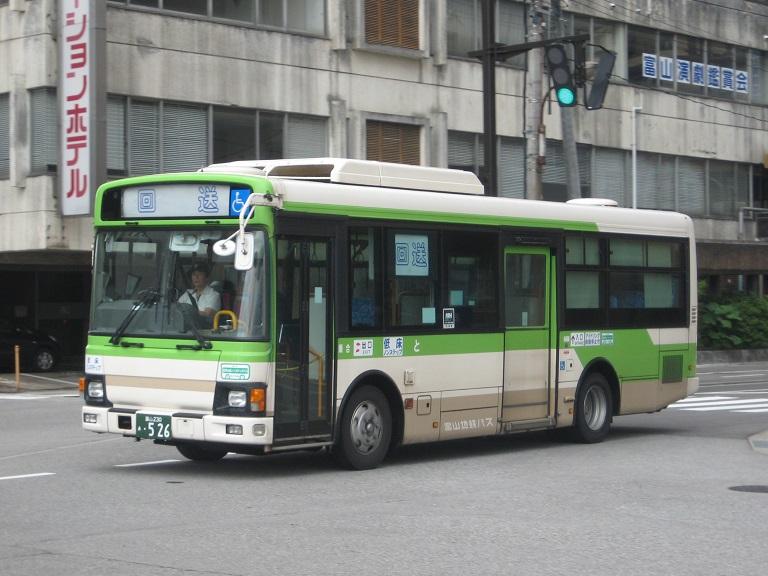 [2014年の夏][富山市] 富山地鉄バス Img_4913