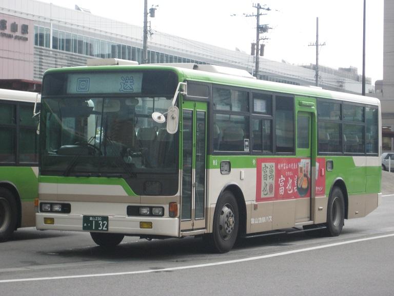 [2014年の夏][富山市] 富山地鉄バス Img_4914