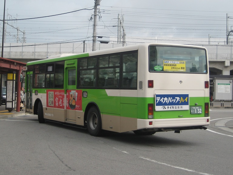 [2014年の夏][富山市] 富山地鉄バス Img_4915