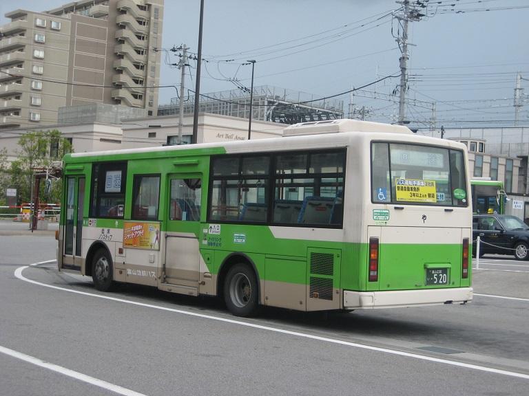 [2014年の夏][富山市] 富山地鉄バス Img_4916