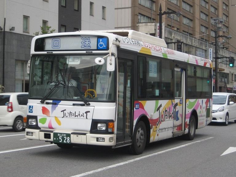 [2014年の夏][富山市] 富山地鉄バス Img_4917