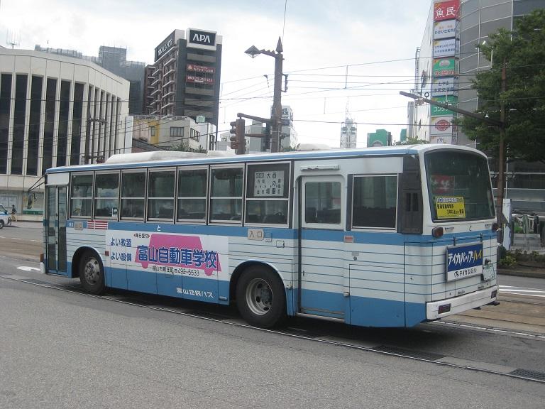 [2014年の夏][富山市] 富山地鉄バス Img_4920