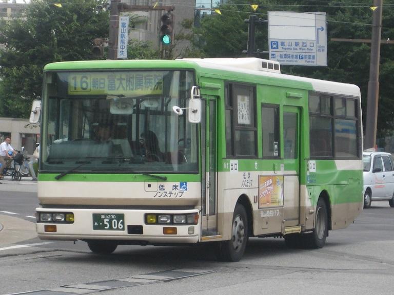 [2014年の夏][富山市] 富山地鉄バス Img_4927