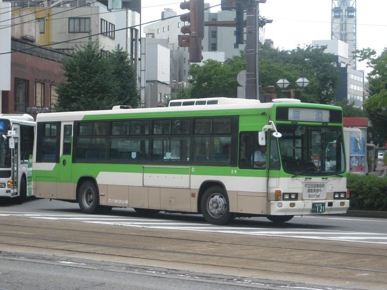[2014年の夏][富山市] 富山地鉄バス Img_4930