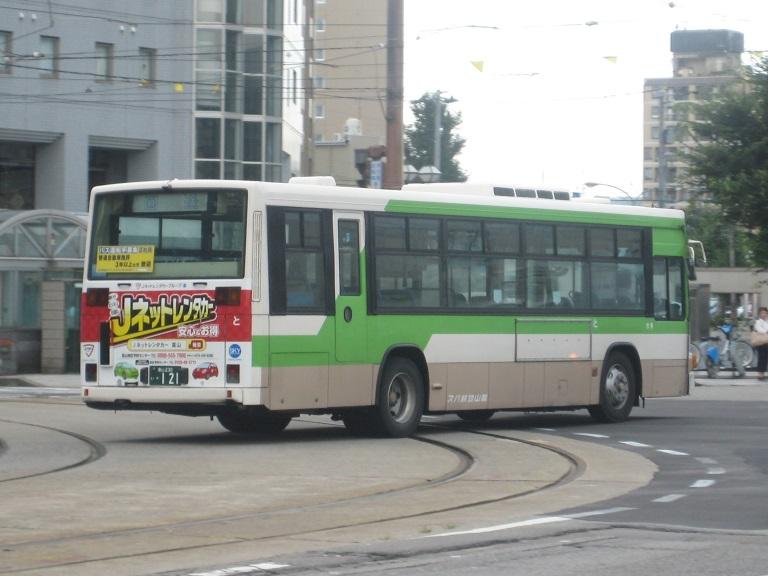 [2014年の夏][富山市] 富山地鉄バス Img_4931