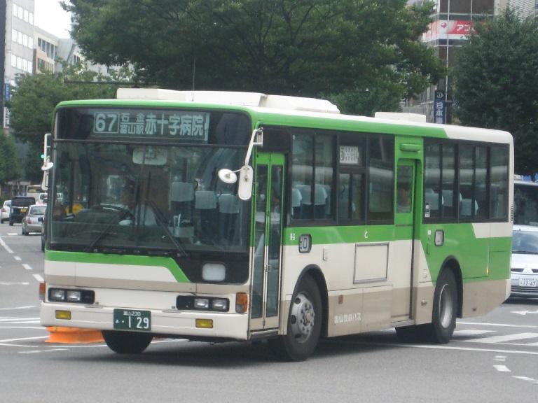 [2014年の夏][富山市] 富山地鉄バス Img_4932