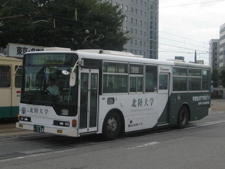 [2014年の夏][富山市] 富山地鉄バス Img_4933