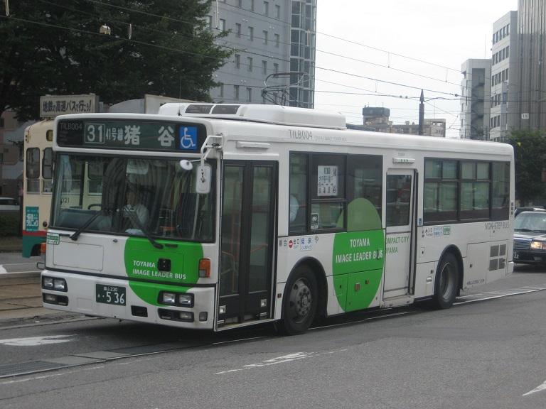 [2014年の夏][富山市] 富山地鉄バス Img_4934