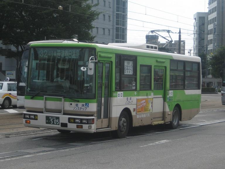 [2014年の夏][富山市] 富山地鉄バス Img_5013