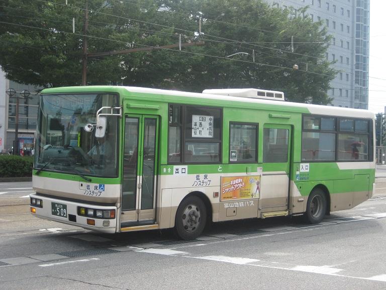 [2014年の夏][富山市] 富山地鉄バス Img_5014