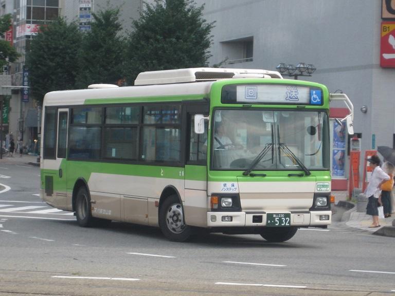[2014年の夏][富山市] 富山地鉄バス Img_5017