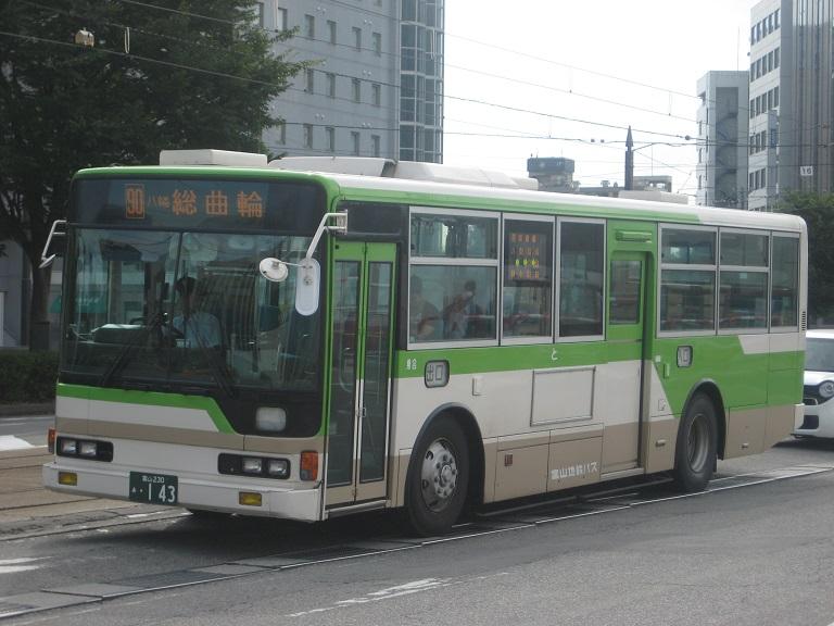 [2014年の夏][富山市] 富山地鉄バス Img_5019