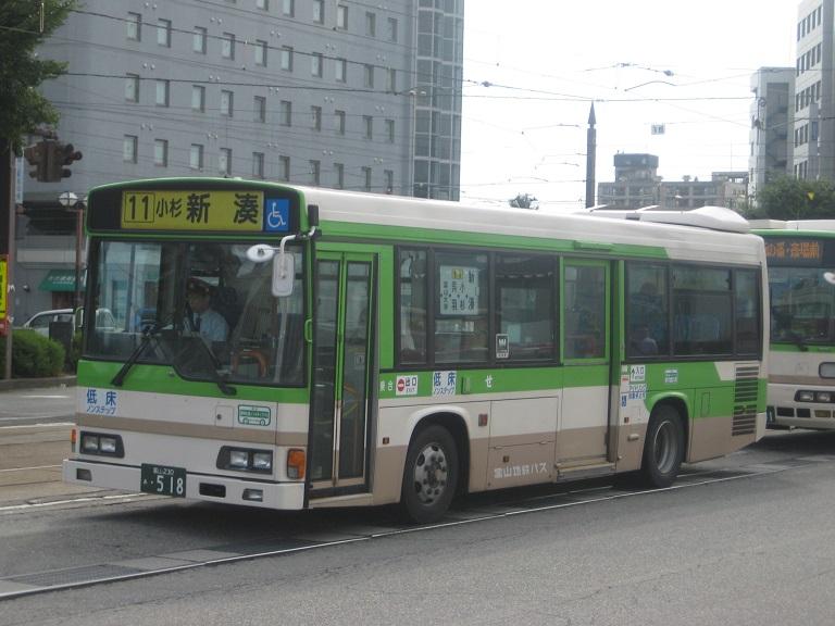 [2014年の夏][富山市] 富山地鉄バス Img_5020