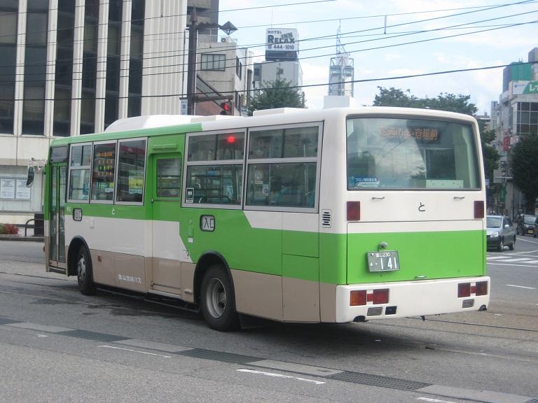 [2014年の夏][富山市] 富山地鉄バス Img_5022