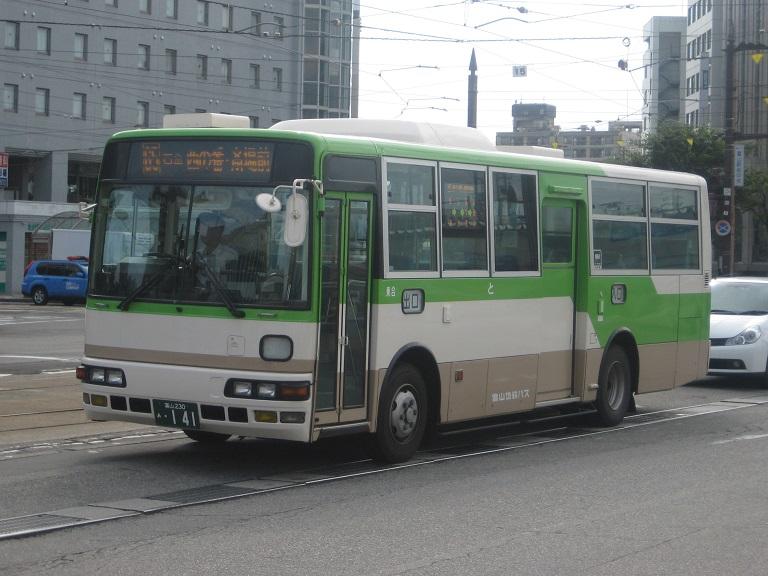 [2014年の夏][富山市] 富山地鉄バス Img_5023