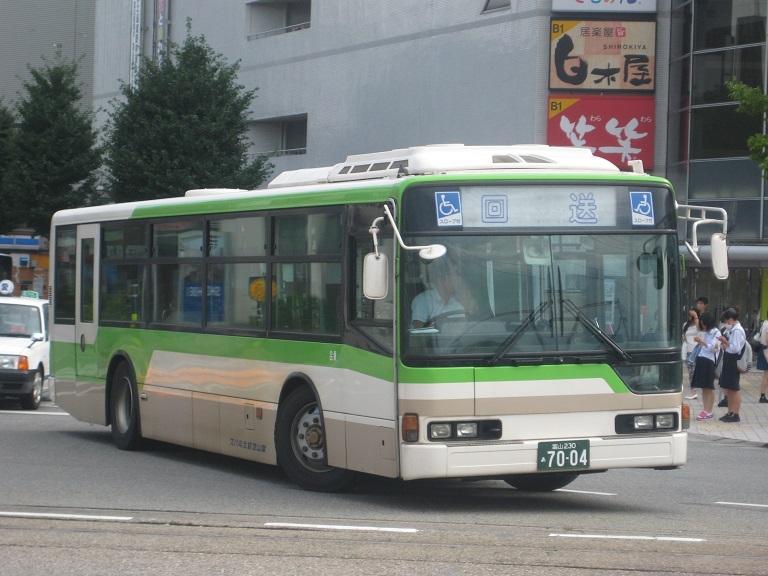 [2014年の夏][富山市] 富山地鉄バス Img_5024