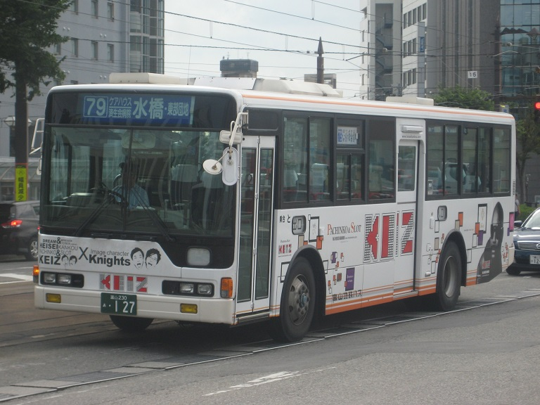 [2014年の夏][富山市] 富山地鉄バス Img_5031