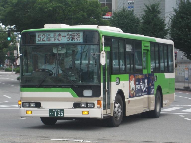 [2014年の夏][富山市] 富山地鉄バス Img_5032