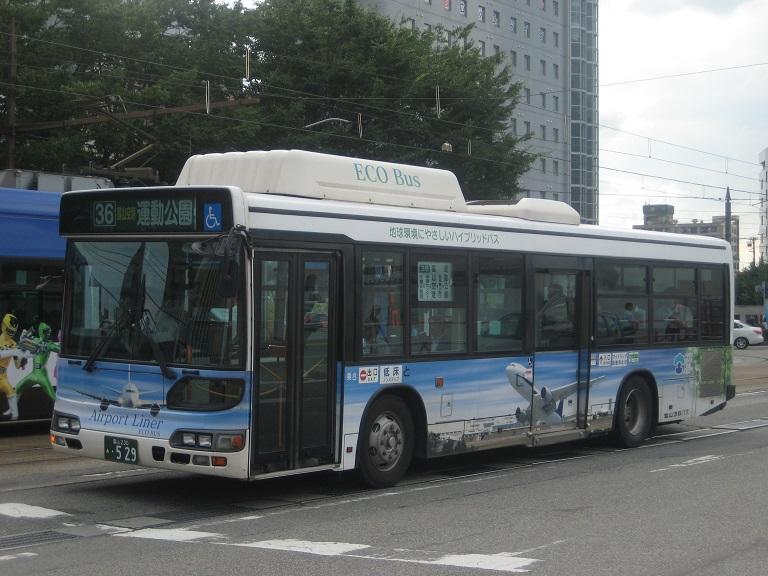 [2014年の夏][富山市] 富山地鉄バス Img_5033