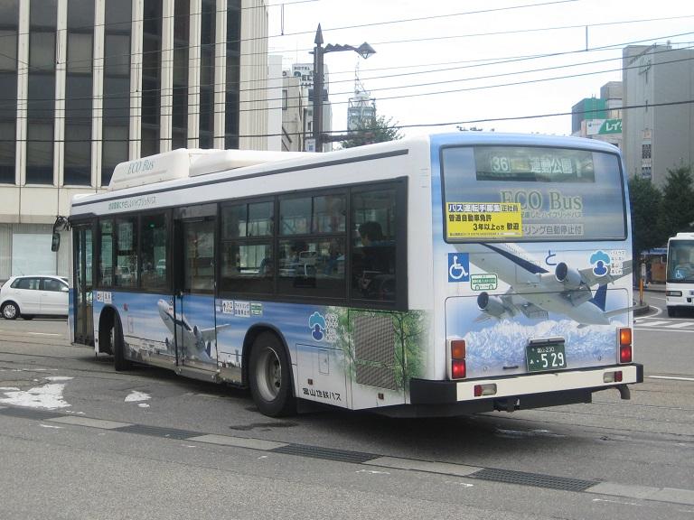 [2014年の夏][富山市] 富山地鉄バス Img_5034
