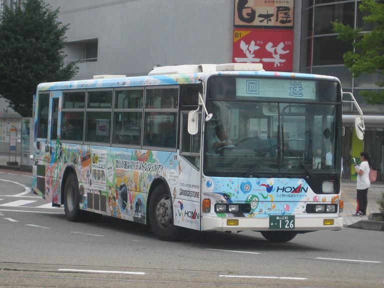 [2014年の夏][富山市] 富山地鉄バス Img_5035