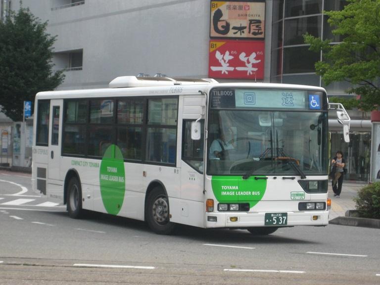 [2014年の夏][富山市] 富山地鉄バス Img_5036