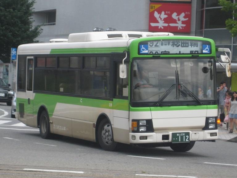 [2014年の夏][富山市] 富山地鉄バス Img_5115