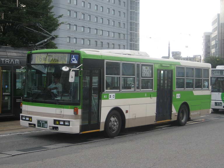 [2014年の夏][富山市] 富山地鉄バス Img_5117