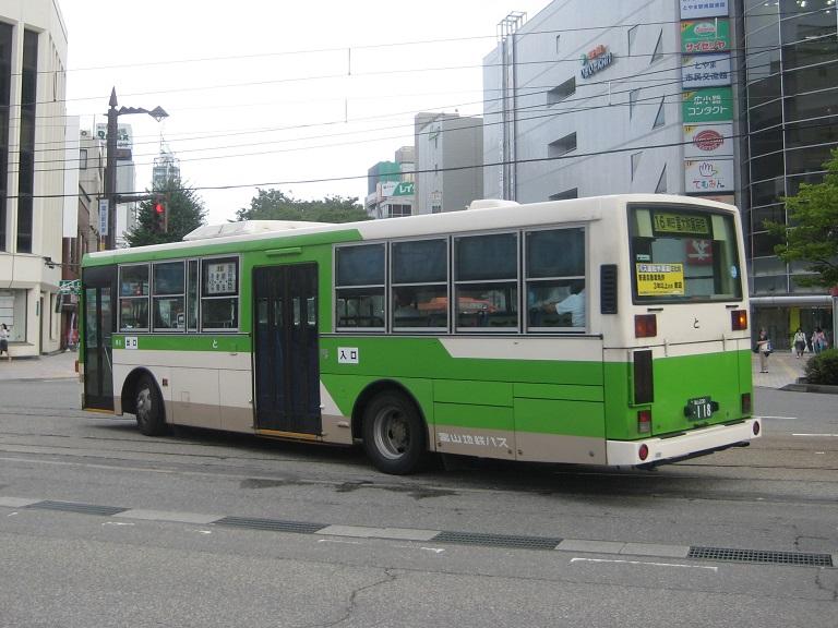 [2014年の夏][富山市] 富山地鉄バス Img_5118