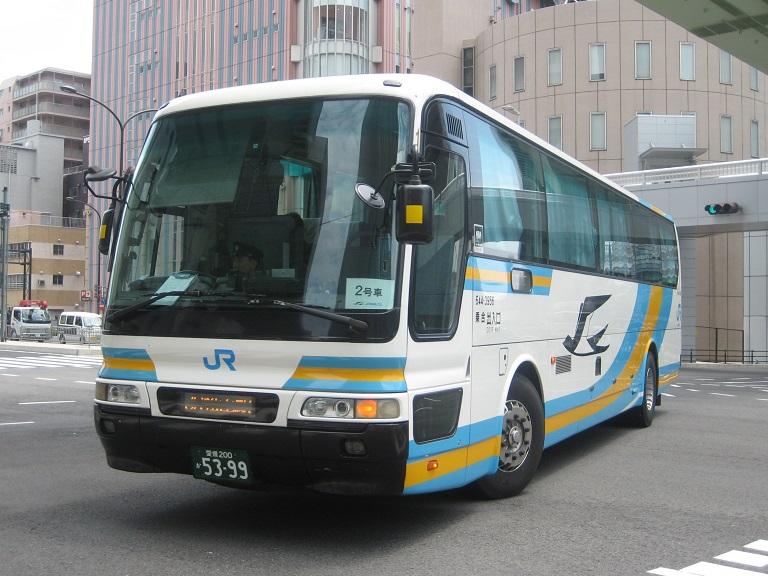 [2014年の夏][神戸市] JR四国バス (高速バス) Img_5321