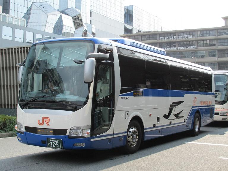 [2016年の夏][京都市] JR東海バス (高速バス) Img_5421
