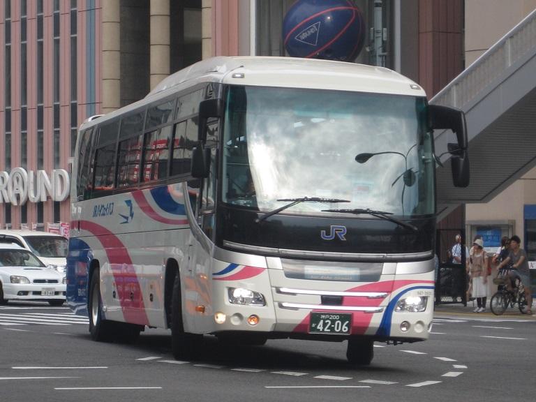 [2014年の夏][神戸市] 西日本JRバス (高速バス) Img_5511