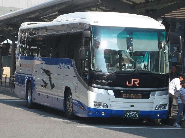 [2014年の夏][京都市] JR東海バス (高速バス) Img_5910