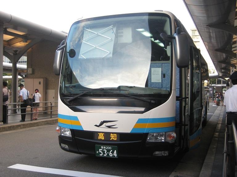 [2014年の夏][京都市] JR四国バス (高速バス) Img_6212