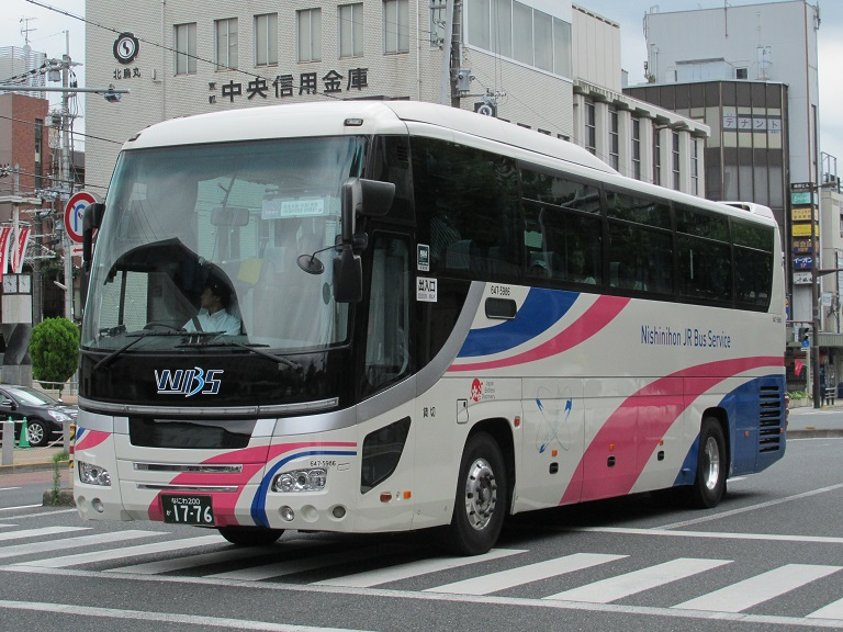 [2016年の夏][京都市] 西日本JRバス (高速バス) Img_7210