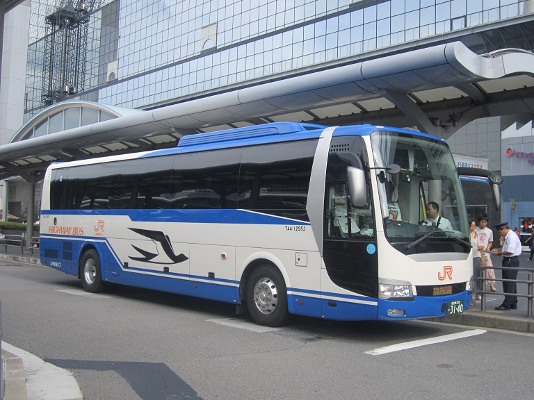 [2013年の夏][京都市] JR東海バス (高速バス) Img_7212