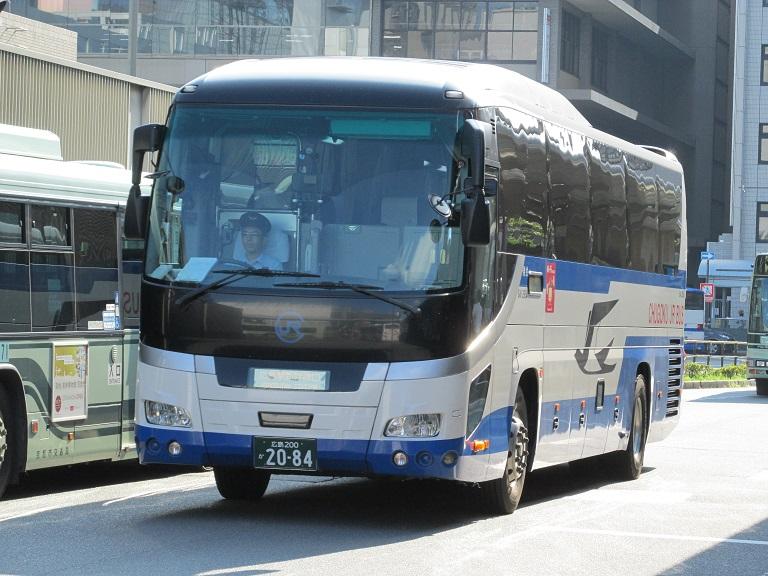 [2016年の夏][京都市] 中国JRバス (高速バス) Img_7511