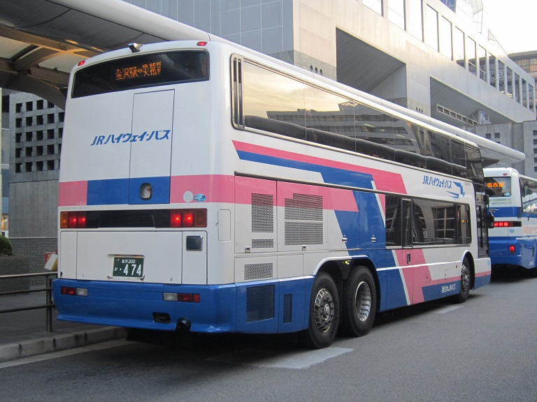 [2013年の夏][京都市] 西日本JRバス (高速バス) Img_8617