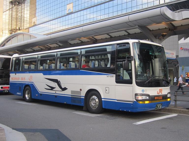 [2013年の夏][京都市] JR東海バス (高速バス) Img_8618