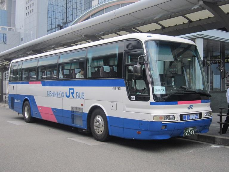 [2013年の夏][京都市] 西日本JRバス (高速バス) Img_9020