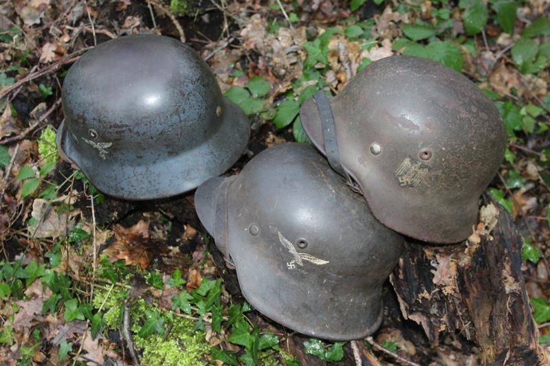 mes casques allemand(photos dans les bois 30/01/2018) - Page 2 Img_7668
