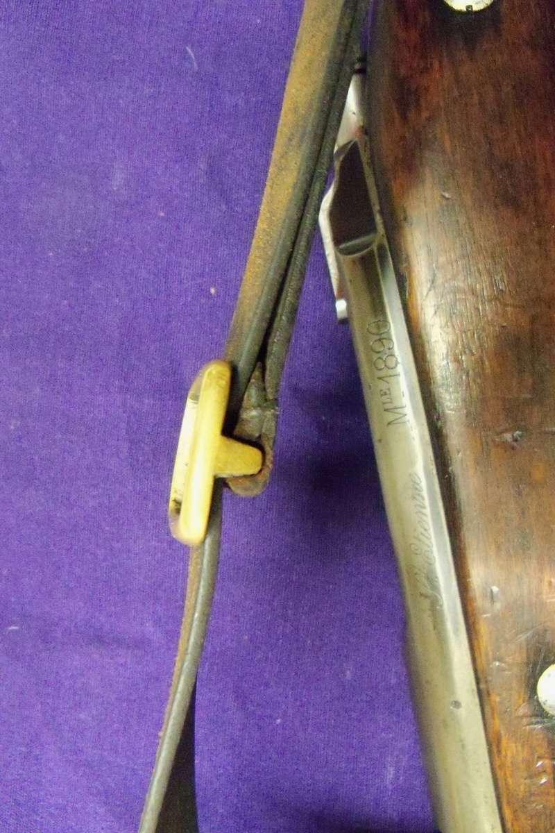 Bretelle sur carabine de cavalerie Mle 1890 100_8624