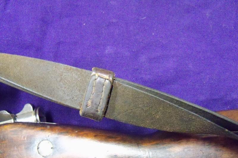 Bretelle sur carabine de cavalerie Mle 1890 100_8625