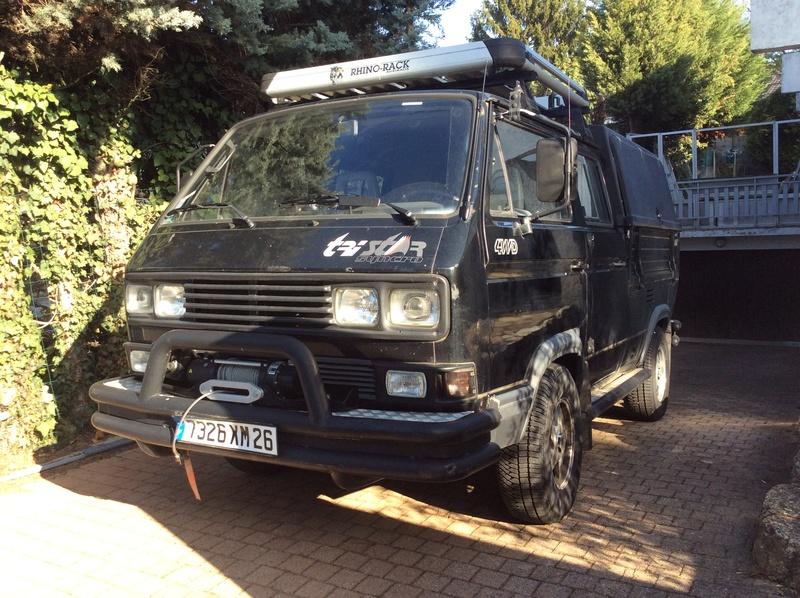 """VW T3 TriStar Syncro """"Noir"""" de 1990 moteur TDI-M  41645210"""