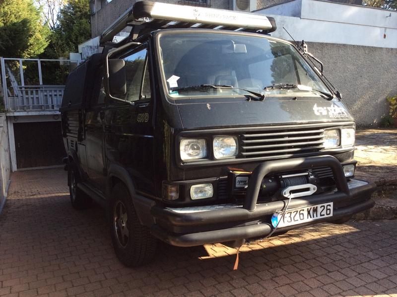 """VW T3 TriStar Syncro """"Noir"""" de 1990 moteur TDI-M  5e377710"""