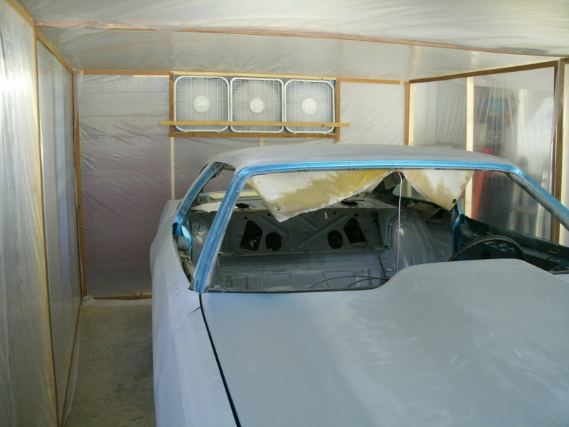 Anyone Built Their Own Paint Booth