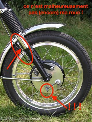 Cable de frein sans issue Bsa-vi10