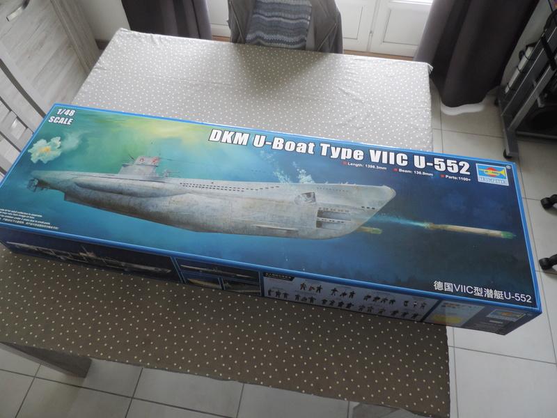 U-BOAT TYPE VIIC U-552 DEUTSCH KRIEGSMARINE 1942 1/48 Dscn5015